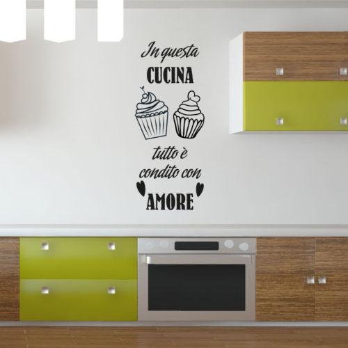 Muffin Adesivi murali per la Cucina