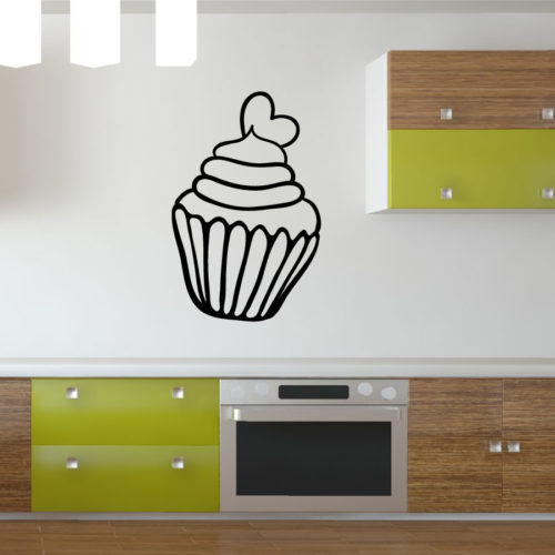 Cupcake Adesivo Murale