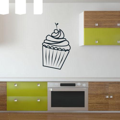Muffin: Adesivo Murale