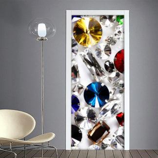 Strass di Cristallo e gioielli adesivo per porta