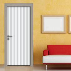 Adesivo per porta grigio chiaro