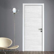 Effetto legno adesivo porta
