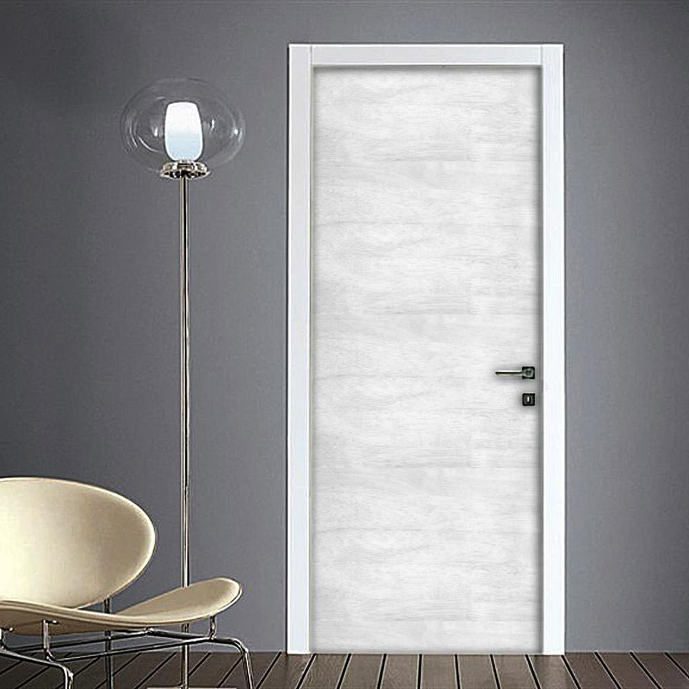 Effetto legno chiaro rivestimento adesivo for Adesivi per porte in legno