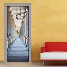 Rivestimento porta adesivo colonnato Karlovy Vary