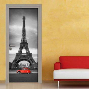 Torre Eiffel adesivo per porta