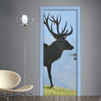 Cervo: adesivi per porte