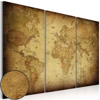 Quadri Mappe del mondo