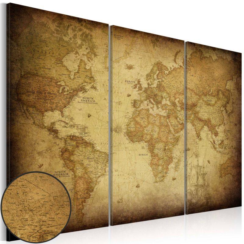 Quadro Mappe del Mondo