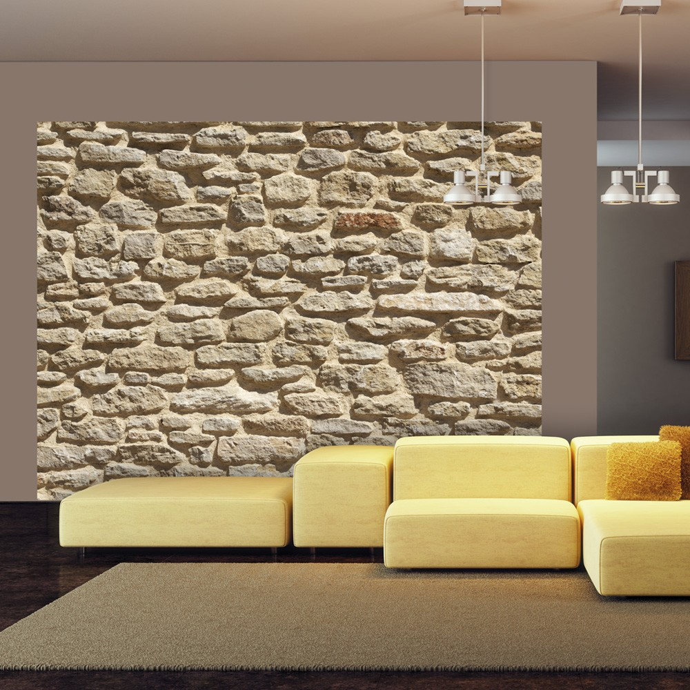 Fotomurale vecchio muro di pietra for Greche adesive da muro