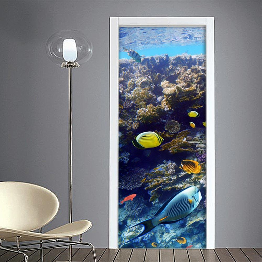 Adesivo porte: acquario