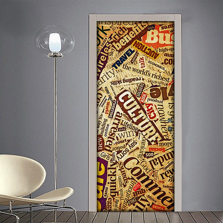 Quadri moderni carta da parati adesivi per porte for Specchi adesivi per porte