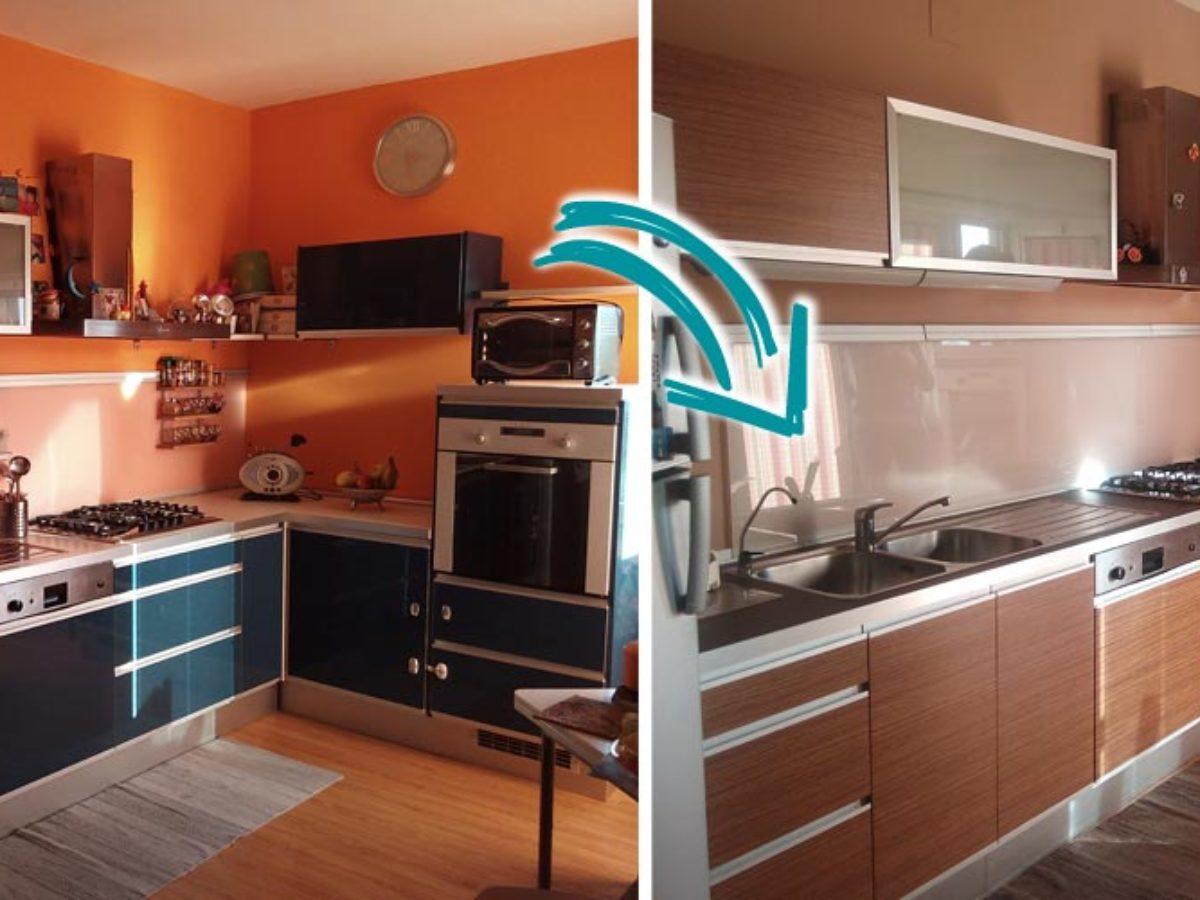 Come Modificare Una Cucina Componibile vuoi rinnovare la cucina senza cambiarla? noi ti consigliamo