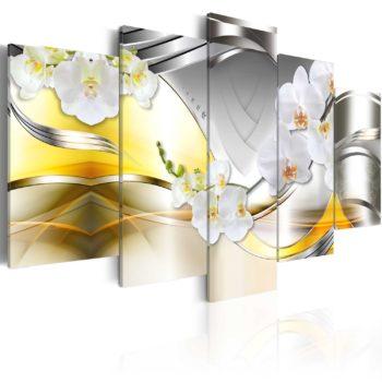 Quadro con Orchidee - Fiori del futuro