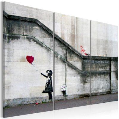Banksy: bambina con palloncino