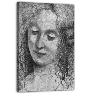 Quadro Vergine delle Rocce di Leonardo Da Vinci