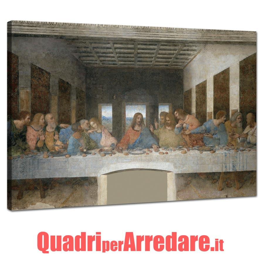 Quadro Ultima Cena Leonardo Da Vinci