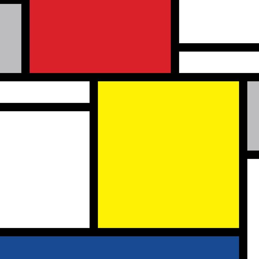 Rotolo adesivo Mondrian: per mobili cucina bagno camera letto