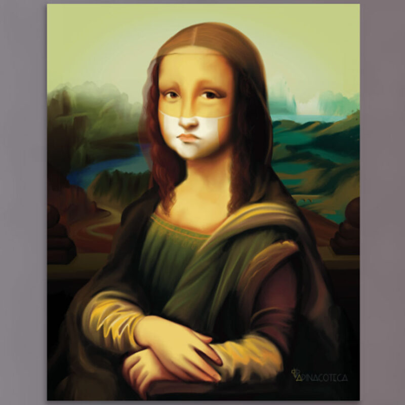 Gioconda o Monna Lisa di Leonardo Da Vinci - Falso d'Autore