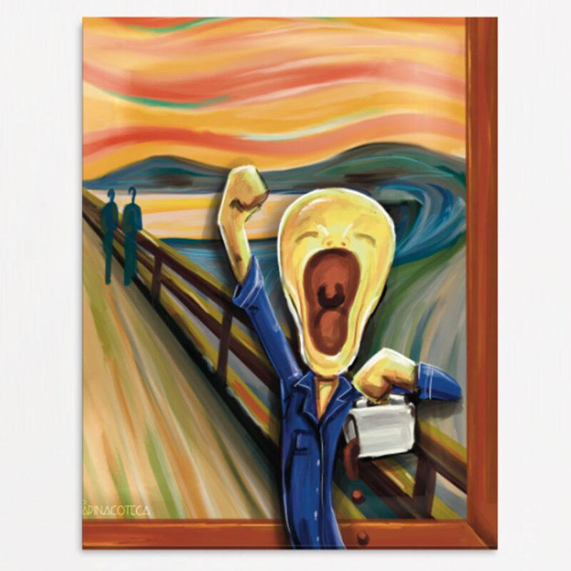 L'Urlo di Edward Munch - Falso d'Autore