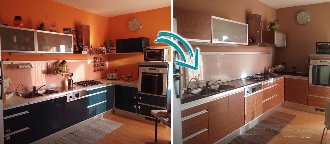 Vuoi rinnovare la cucina senza cambiarla? Noi ti consigliamo ...